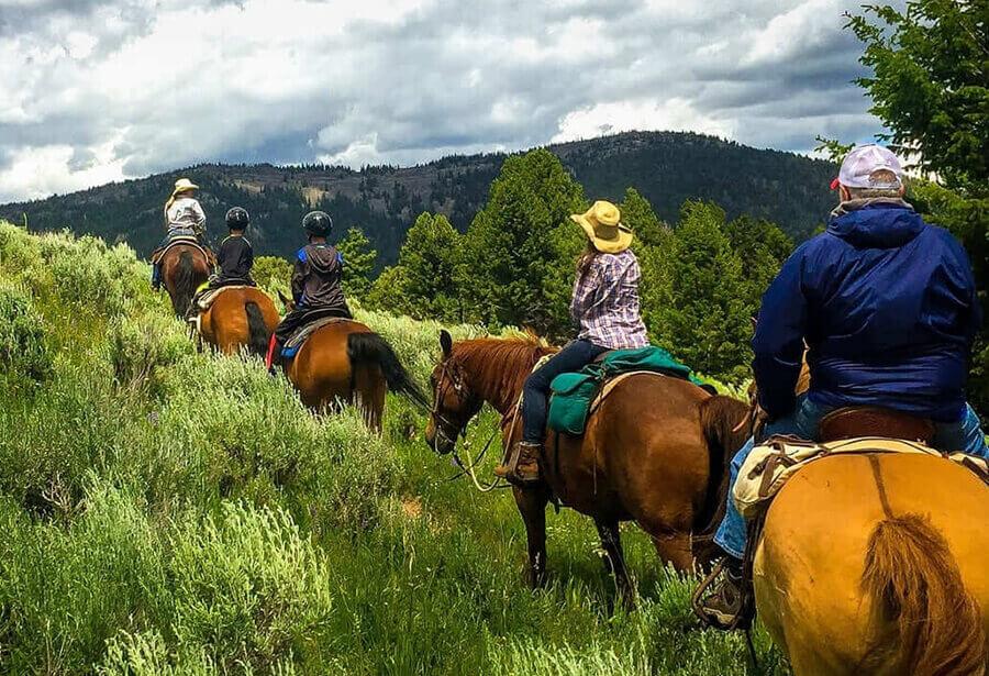 Preparando el viaje a caballo