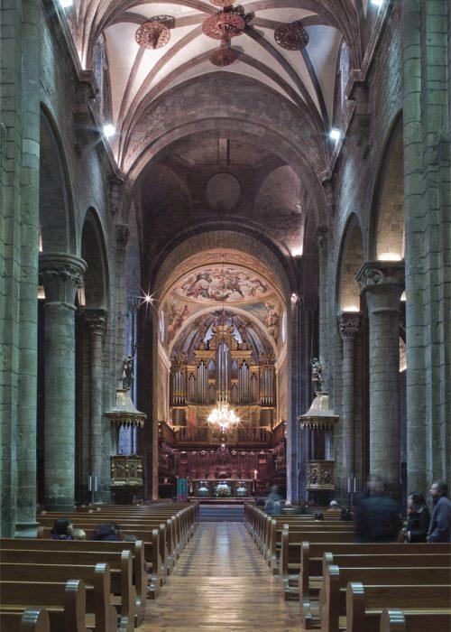 Interior Catedral Jaca